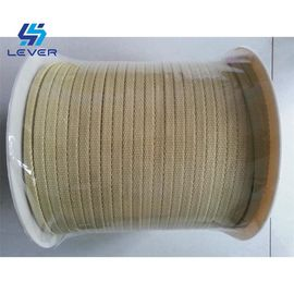 China Kevlar Aramid Ropes für mildernden Glasofen 10 x 3mm Northglass, das Ofenseil mildert usine