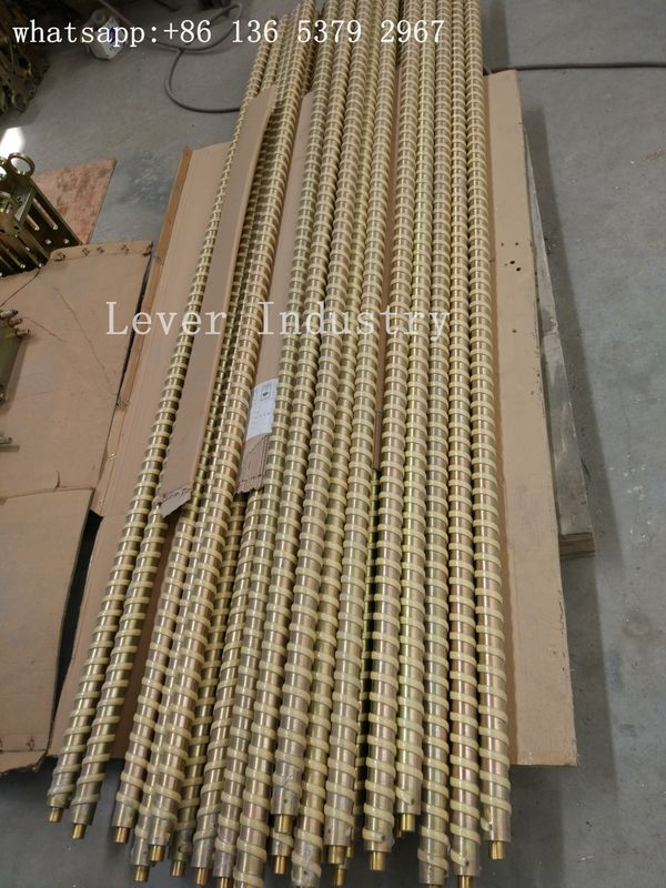 Fiber Ropes Tempering Furnace Parts Steel Rollers With Kevlar Ropes