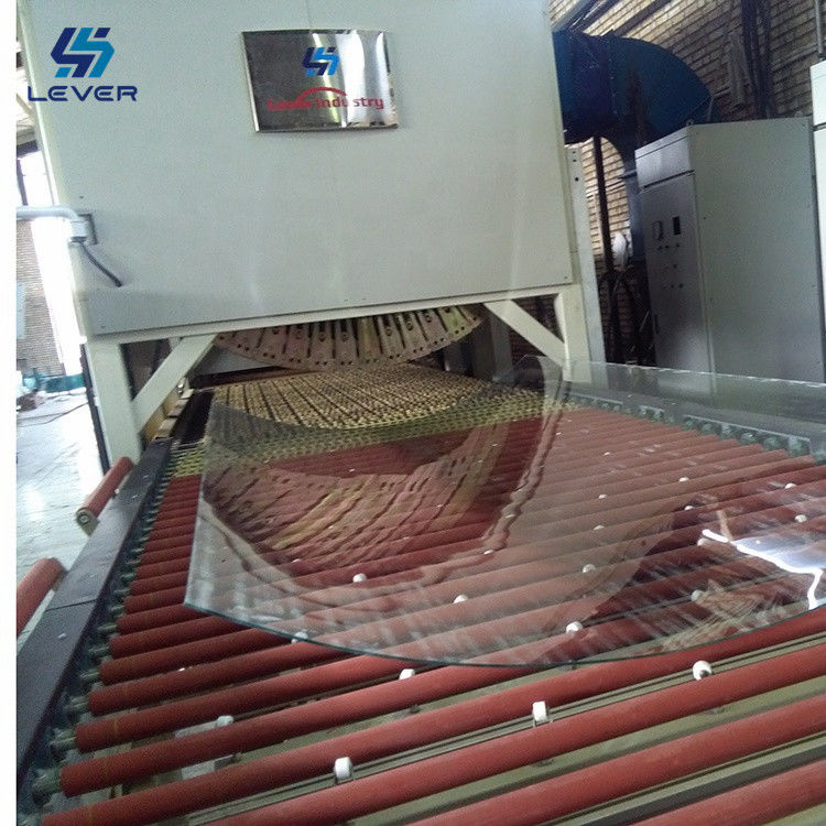 Building Glass Tempering and soft rollers bending tempered glass making machine Furnace Glass Toughened plant